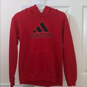 Adidas hooded sweater